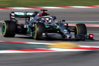 Lewis Hamilton tijekom treninga u Barceloni/Foto REUTERS