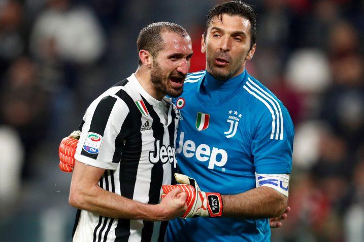 Gianluigi Buffon i Giorgio Chiellini/Foto REUTERS