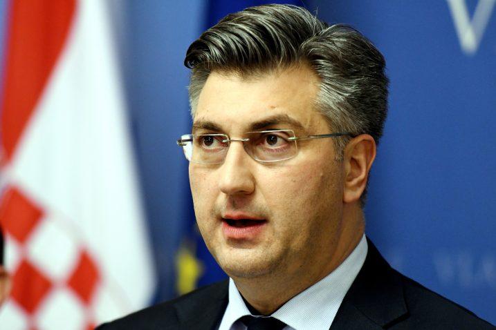 Andrej Plenković, Foto: D. LOVROVIĆ