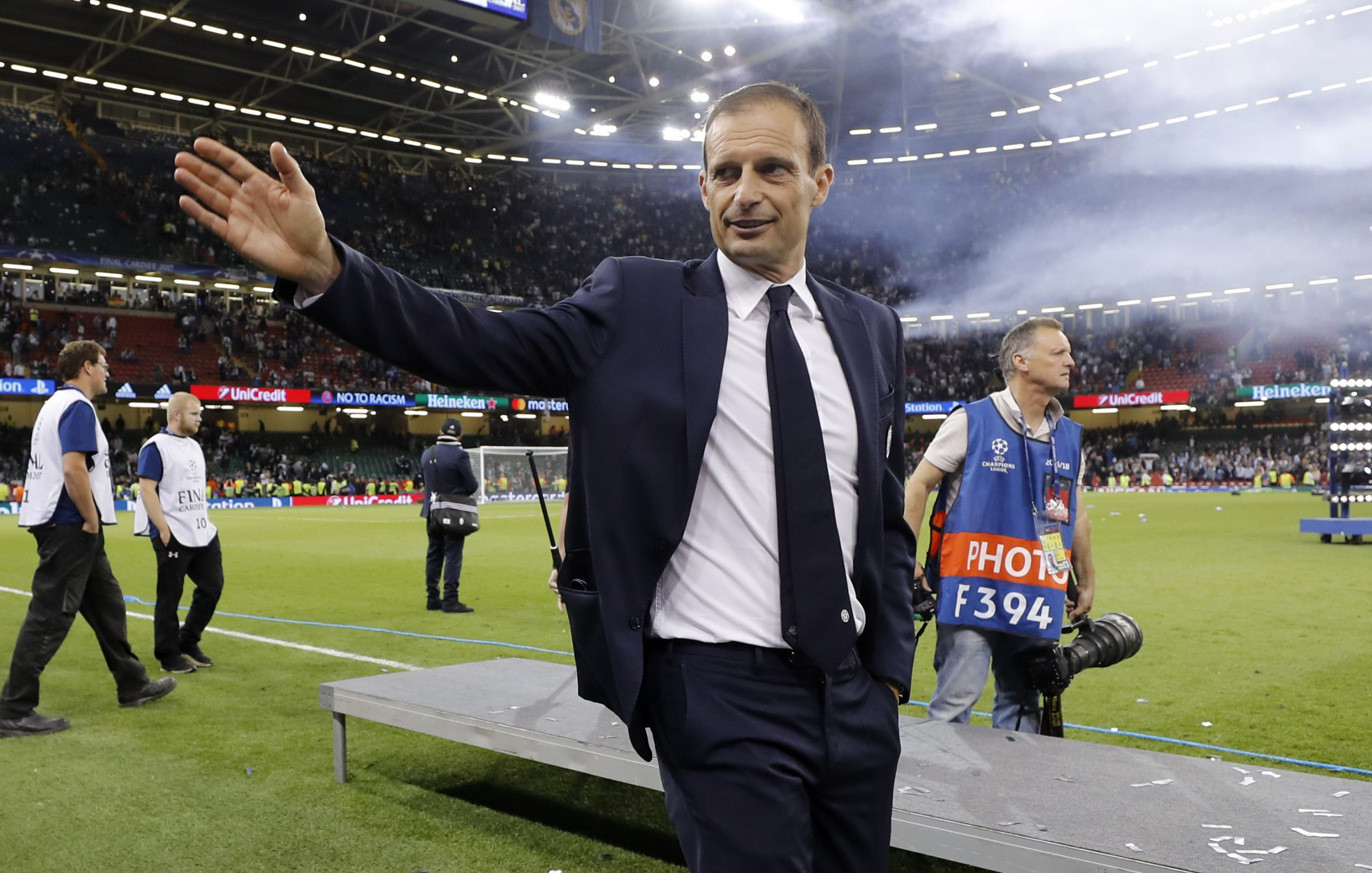 Massimiliano Allegri/Foto: REUTERS