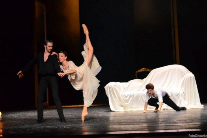 """Prizor iz Baleta """"Ana Karenjina"""" / Snimio B. Novković/HNK"""
