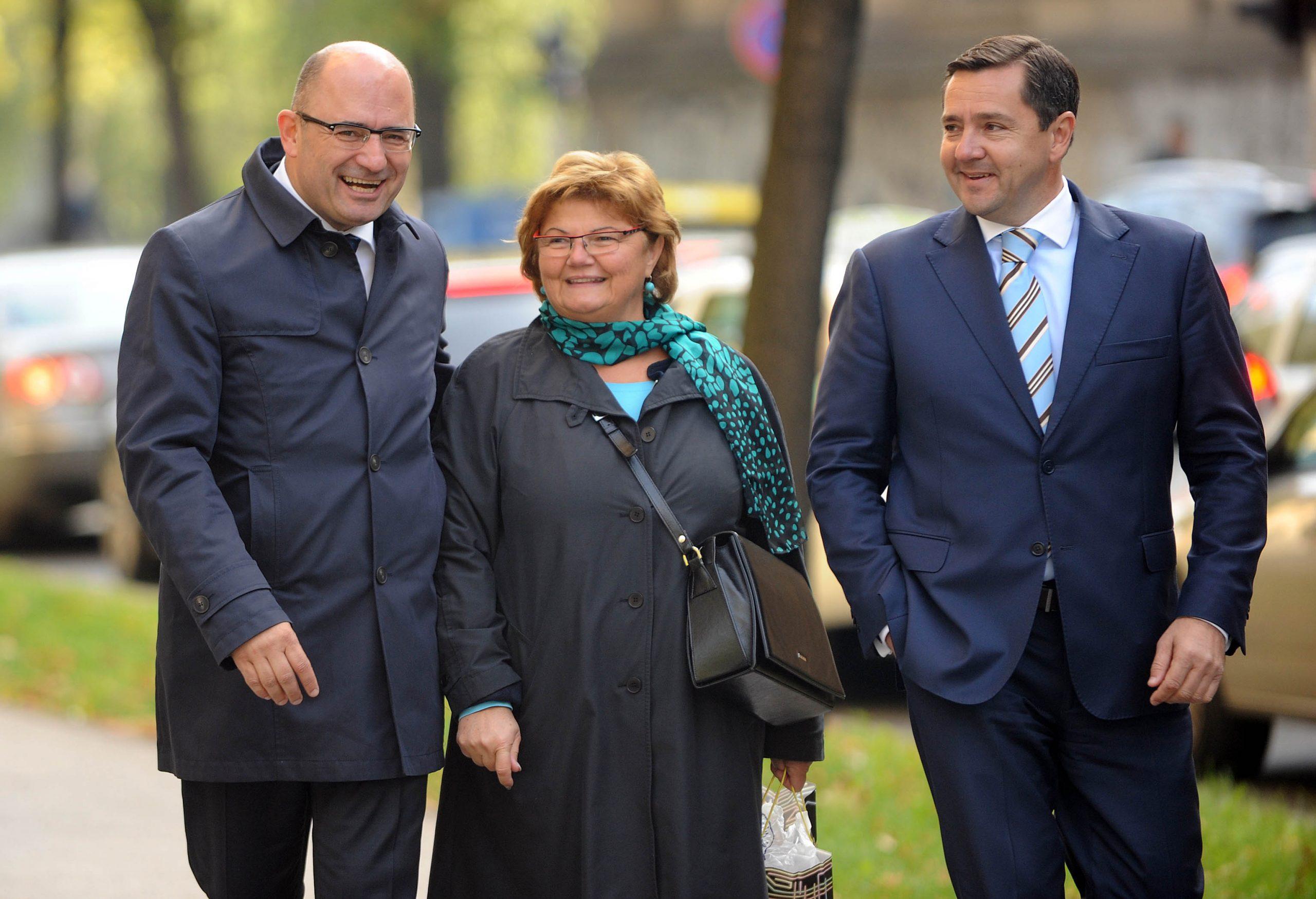 Milijan Brkić, Nada Murganić i Andrija Brkić / Foto Davor KOVAČEVIĆ