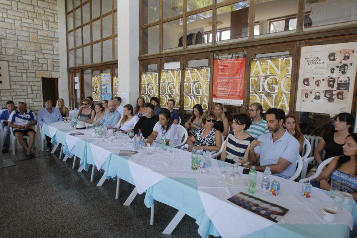 Tiskovna konferencija na Brijunima na kojoj je najavljena nova premijera / Foto CROPIX/ Goran Sebelic