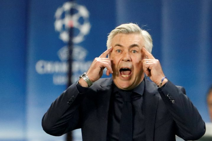 Carlo Ancelotti, Foto: REUTERS