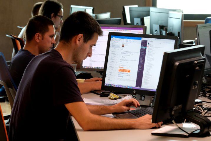 Zaposlenici Infobipa u novom kampusu / Foto Milivoj MIJOŠEK