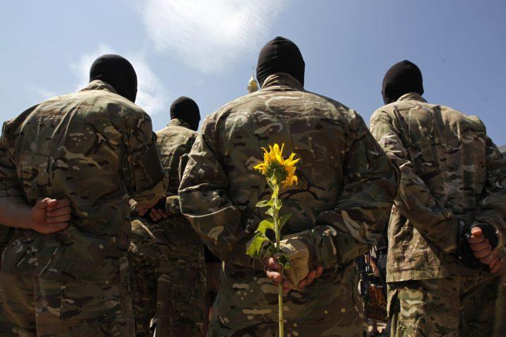U ukrajinskoj paravojnoj formaciji ima i boraca iz Hrvatske / Foto Reuters