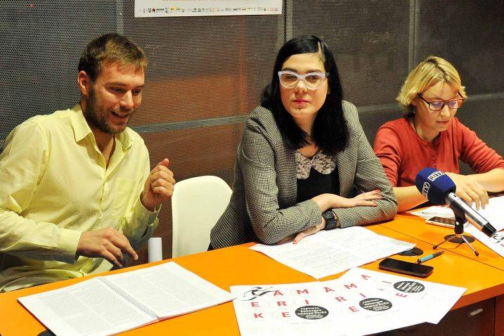 Riječki dio programa najavili su Ivan Šarar, Vedrana Bibić i Željka Horvat Čeč / Foto: I. TOMIĆ