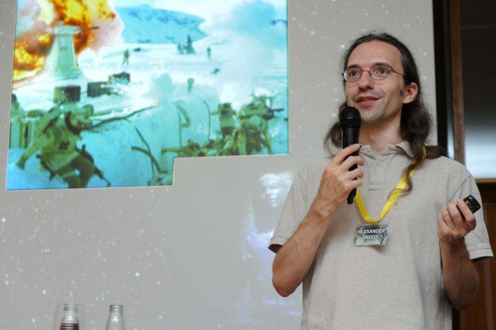 Počasni gost i predavač, američki književnik Alexander Freed, čija su djela vezana uz Ratove zvijezda / Foto Marko GRACIN