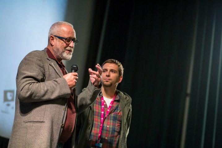 Fred Breinersdorfer na ZFF-u (lijevo) / Foto ZFF