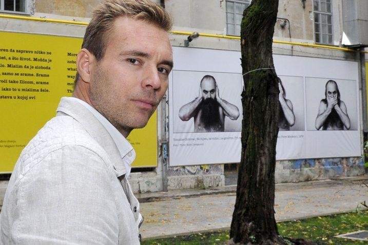 Pročelnik Odjela za kulturu Grada Rijeke Ivan Šarar / Foto Silvano JEŽINA