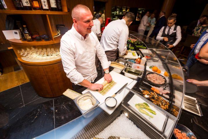 Šef kuhinje japanskog restorana Matsunoki je Saša Pribičević, snimio Ivan Brčić