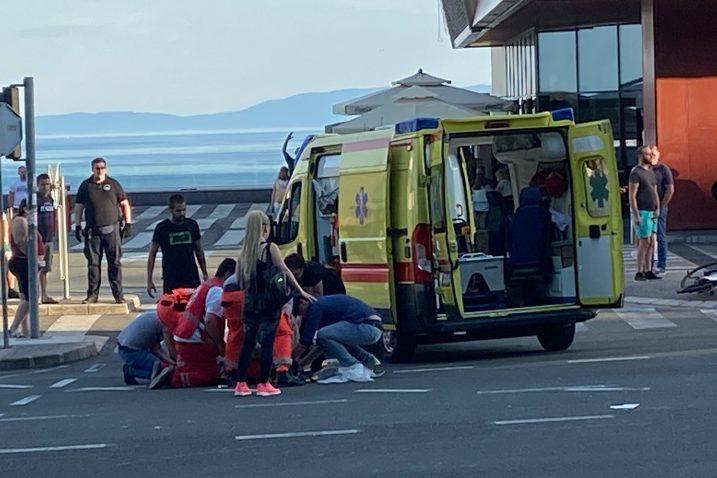 Prometna nesreća kod ZTC-a / Snimio Sergej DRECHSLER