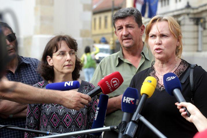 Kristina Pavlović, Željko Sačić, Rozalija Bartolić / Foto Zarko Basic/PIXSELL