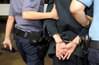 Privedeno je 16 osoba, a jedanaest je ostalo u pritvoru  / Snimio Sergej DRECHSLER / NL arhiva