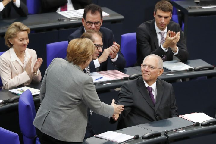 Angela Merkel i Wolfgang Schaeuble / Foto: REUTERS