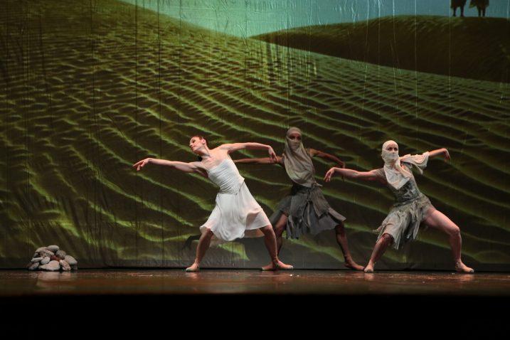 »Pustinja iskušenja« Vitalija Kloka otvorila je večer koreografija / HNK Zajc