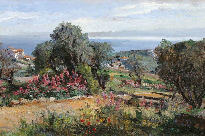 »Okolica Brseča«, oko 1900.