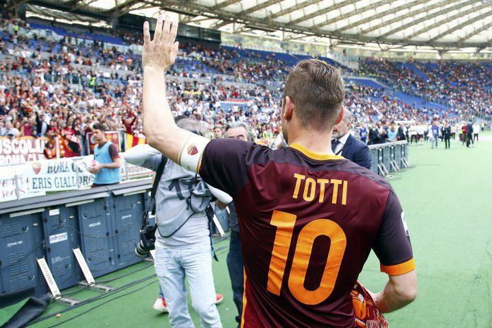 Francesco Totti, Foto: REUTERS