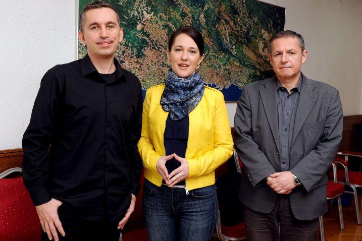 Zvonimir Peranić, Petra Mandić i Predrag Miletić / Foto: M. GRACIN