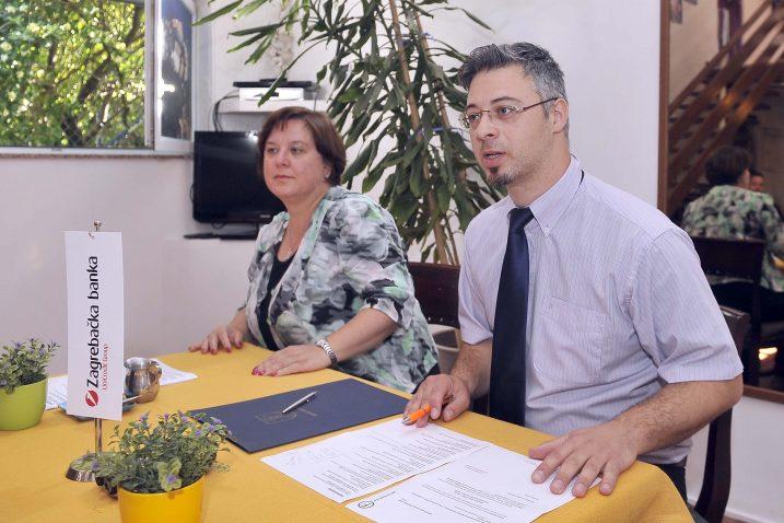 Tamara Sergo i Ernie Gigante Dešković / Snimio Vedran KARUZA