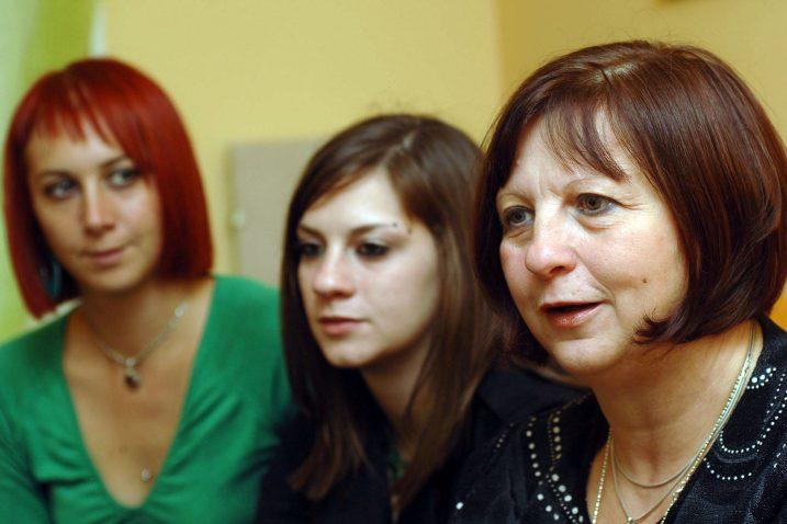 Ana, Tena i Ljiljana - Veljkove tri cure / Foto Sergej DRECHSLER
