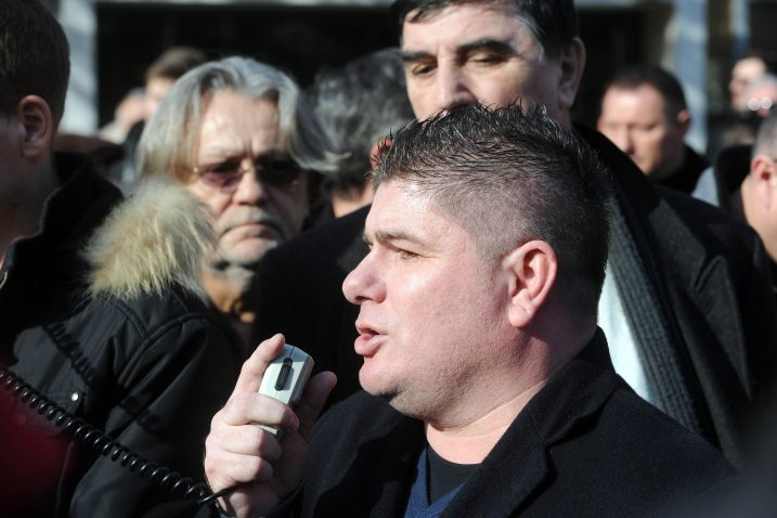 Emisija kontroverznog voditelja i urednika Velimira Bujanca tri puta tjedno na RiTV-u / Snimio Davor Kovačević
