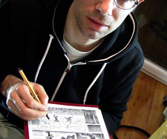 Hrvatski strip autor i urednik on-line časopisa Moj Strip Jurica Starešinčić