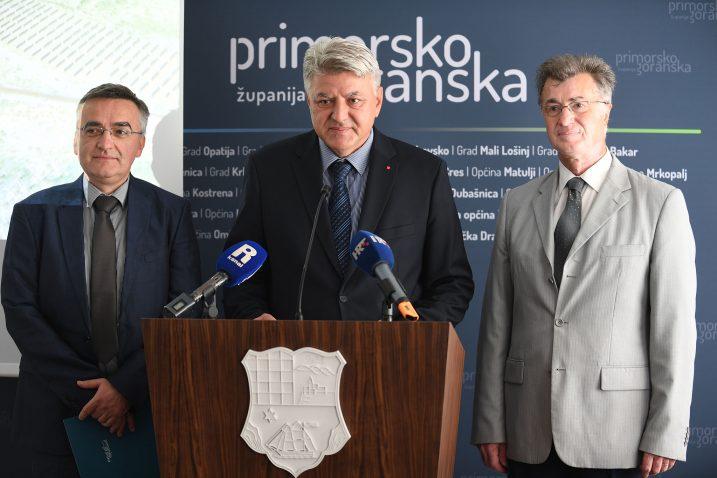 Adam Butigan, Zlatko Komadina i Darko Jardas / Snimio Ivica TOMIĆ