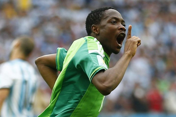 Ahmed Musa / REUTERS