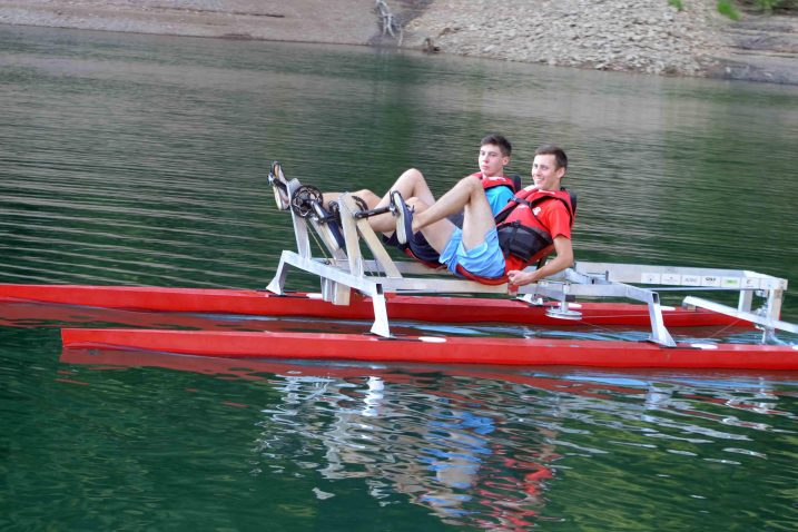 Riječki studenti prošlog su ljeta uživali u plovilu koje su izgradili, a idućeg ljeta krenut će u izradu tradicijskih čamaca / arhiva NL