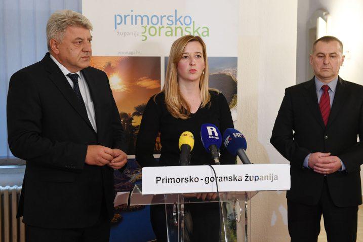 Zlatko Komadina, Mirela Ahmetović i Goran Frančić. Foto: I. TOMIĆ