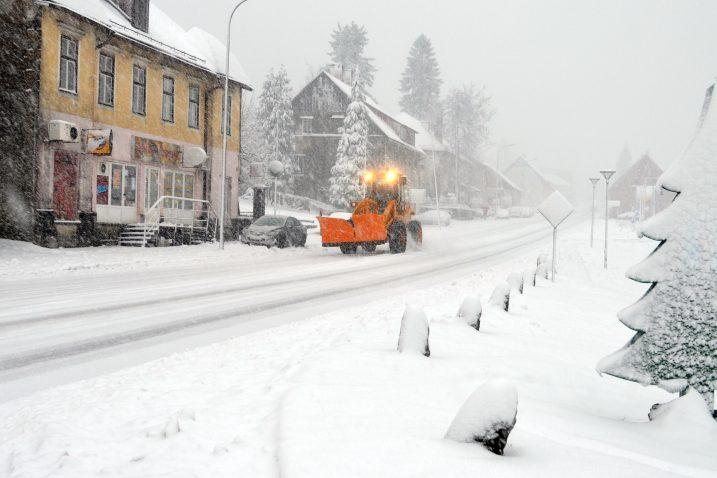 Zimska služba na terenu u Delnicama / Snimio Marinko KRMPOTIĆ