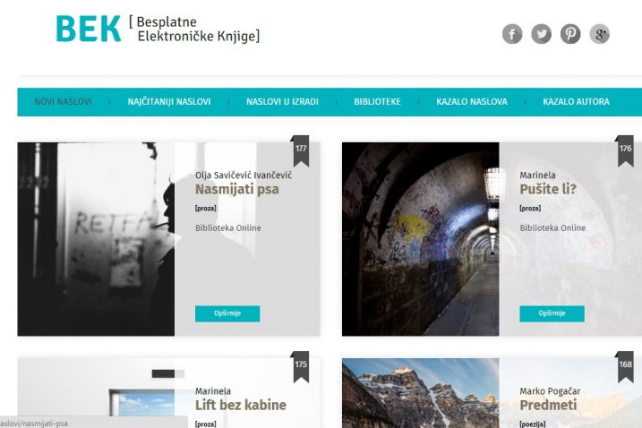 Screenshot / elektronickeknjige.com