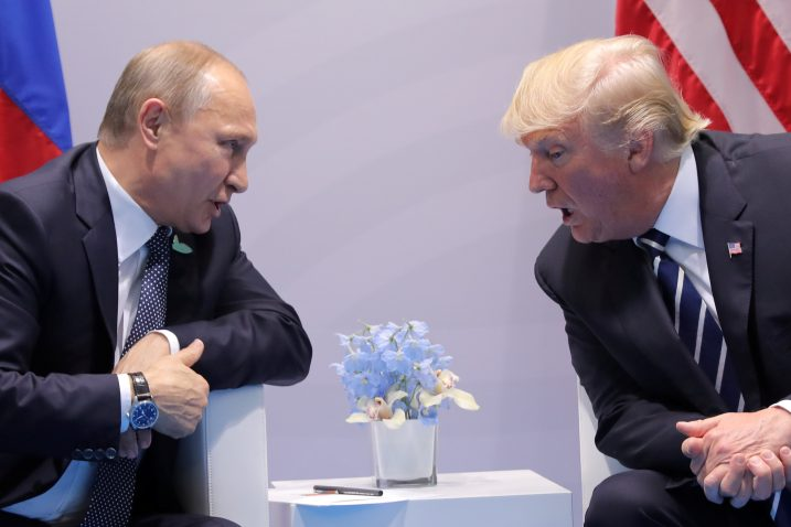 Vladimir Putin i Donald Trump, Foto: REUTERS
