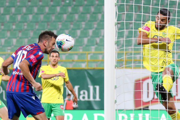 Mijo Caktaš postigao je jedini gol na Aldo Drosini/Foto PIXSELL