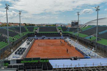 Glavni teren regionalnog teniskog centra HTS-a/Foto PIXSELL