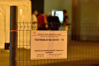 Zavod za javno zdravstvo gdje su testirani tenisači / Foto: Dino Stanin/PIXSELL