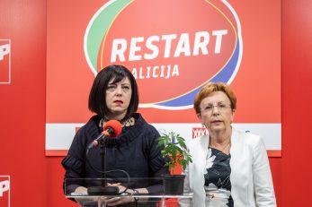 Mirela Holy i Vesna Nađ / Foto Davor Puklavec/PIXSELL