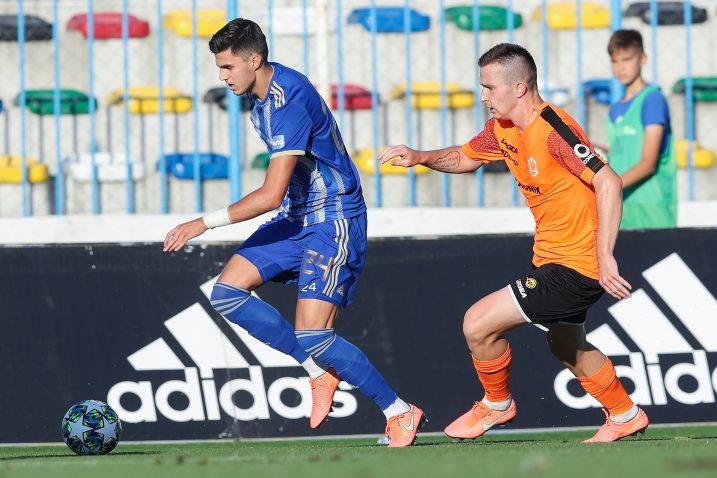 Marko Tolić (Lokomotiva) i Matej Senić (Varaždin)/Foto PIXSELL