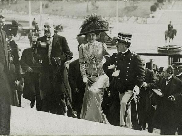 Viktor Emanuel III. i kraljica Elena / Foto Corriere della Sera