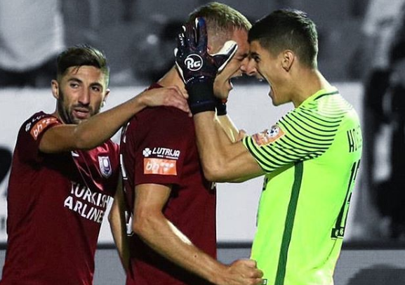 Prvakom su proglašeni nogometaši Sarajeva/Foto Instagram