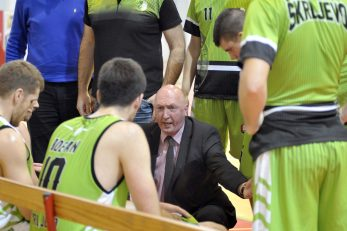 Trener Damir Rajković s ekipom/Foto Arhiva NL