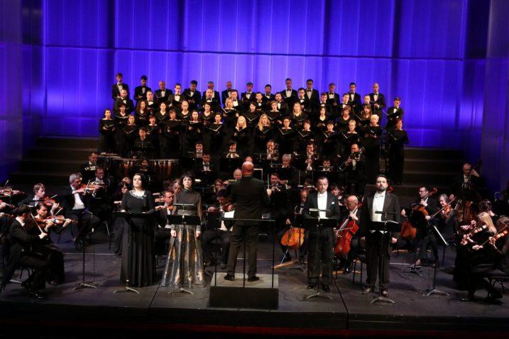 Slovenska filharmonija pod ravnanjem maestra Boruta Smrekara  / HNK Zajc