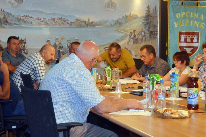 Planovi preskupi i nerealni – novi sastav fužinskog Vijeća / snimio M. Krmpotić