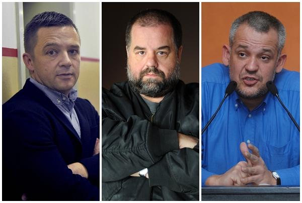 Tvrtko Jakovina, Kristijan Milić, Nikica Gilić / Foto: Novi list
