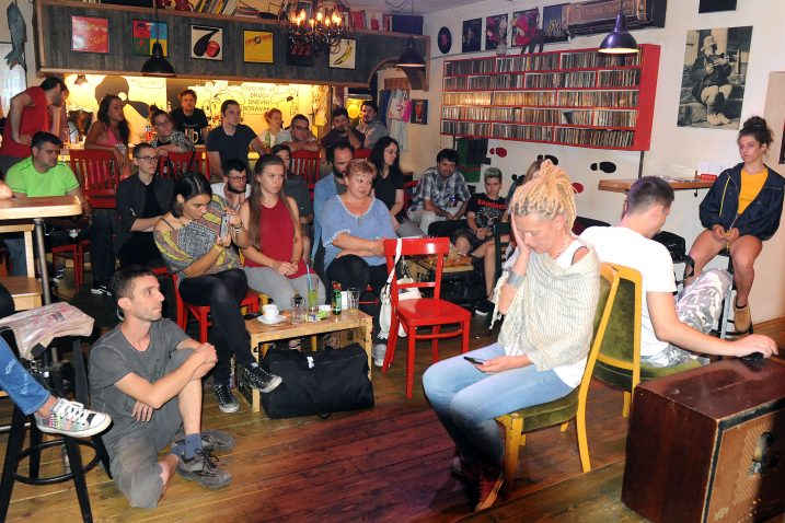 Nakon predstave uslijedio razgovor s publikom  / Snimio Marko GRACIN