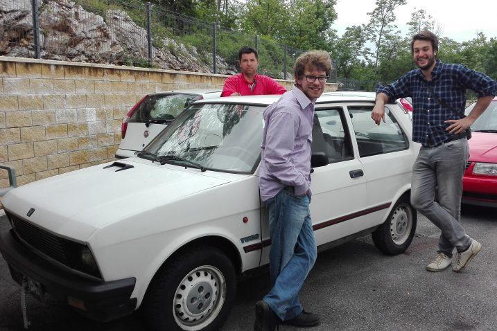 Marino Rempešić, Darko Matoš i Filip Jakovac s humanitarnim ciljem odlučili postati dijelom auto rallyja za drugačije