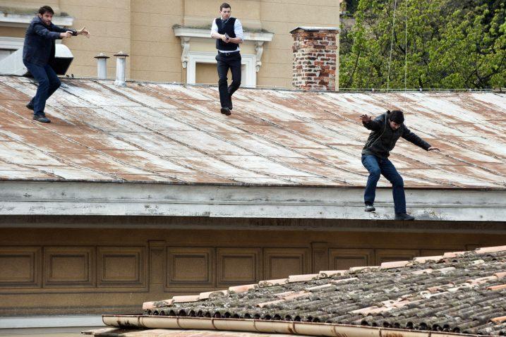 »Luda potjera« detektiva Marca Corazze (Gorana Višnjića) za »lošim dečkom« / Snimio Marin ANIČIĆ