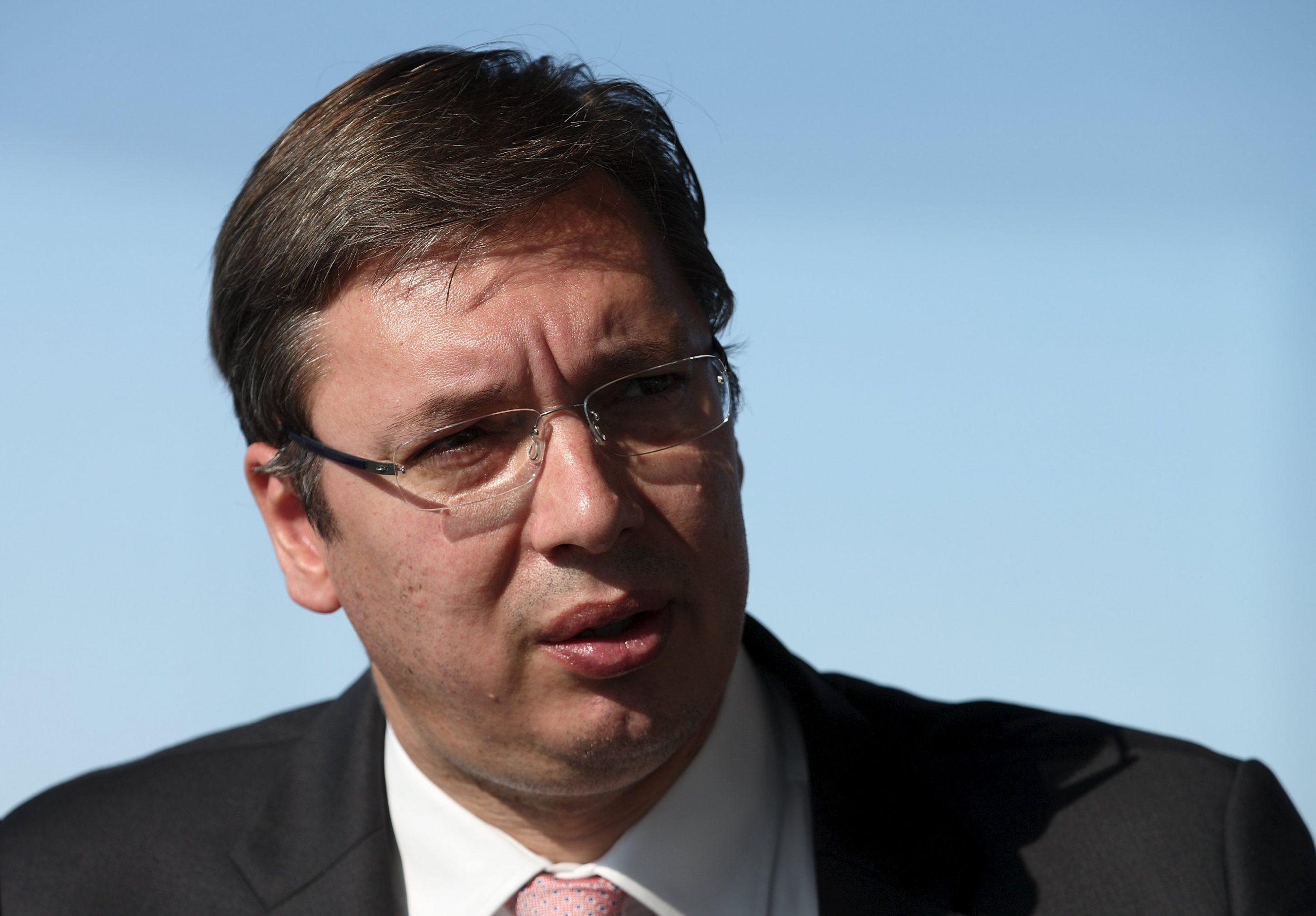 Aleksandar Vučić / Reuters