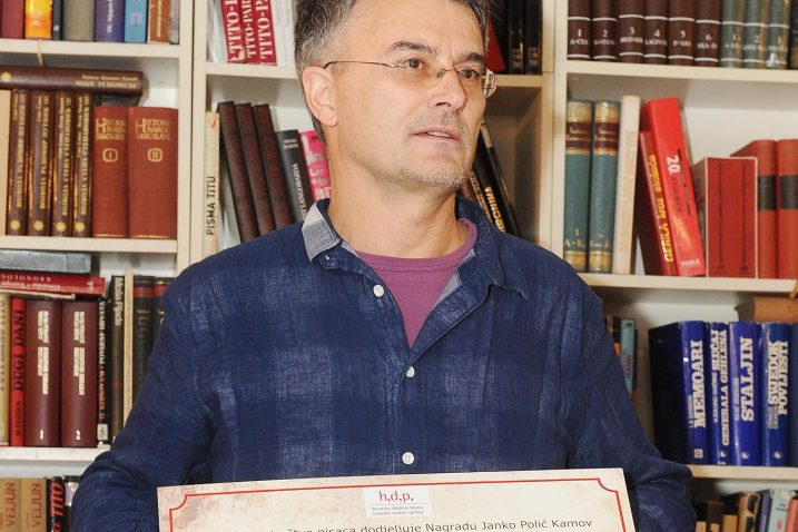 Zoran Roško dobio je 10.000 kuna i statuu u obliku ključa / Snimio Sergej DRECHSLER